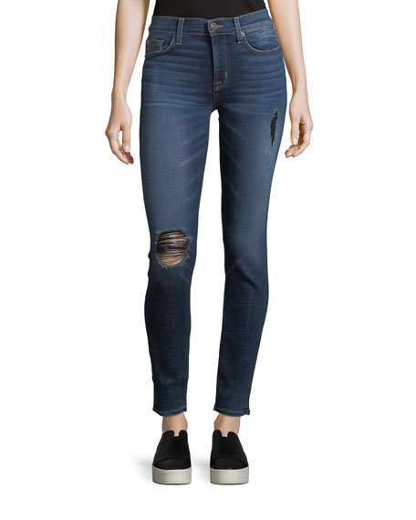 Hudson Nico Mid-Rise Skinny Jeans, Revelation