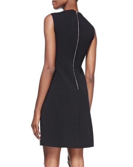 sicily sleeveless a-line dress