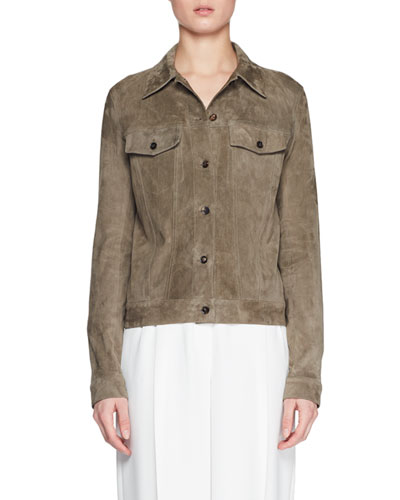 Coltra Lambskin Leather Jacket