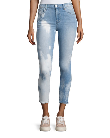 J Brand Alana Overtime High-Rise Crop Jeans