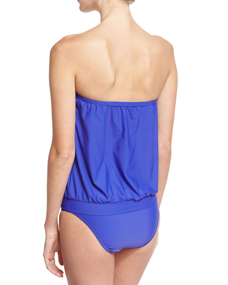 Cabana Solids Callia Bandini Swim Top