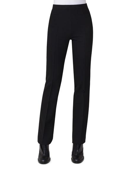 Akris punto Suede Blazer with Detachable Wool Vest,