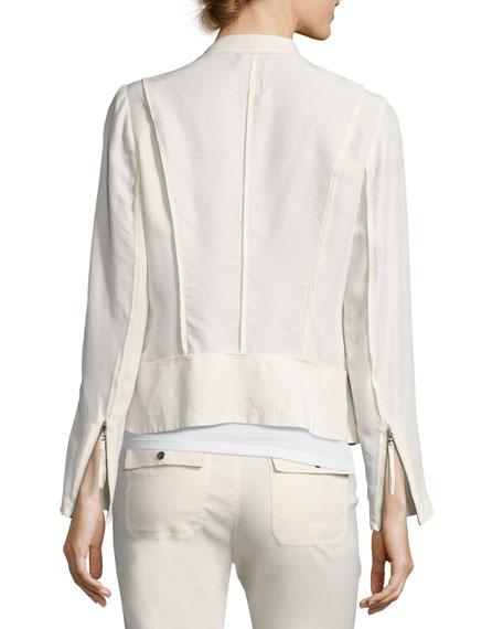 Go Biker Silk Jacket