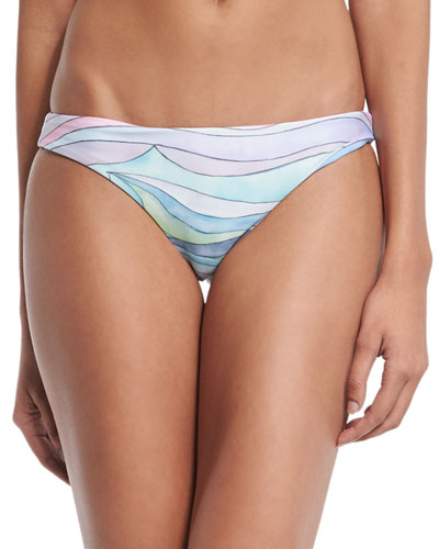Waves Low-Rise Hipster Swim Bottom