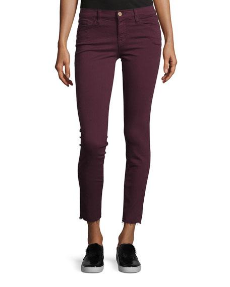FRAME Le Skinny de Jeanne Raw Edge Jeans,