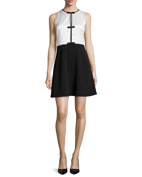 Erin Fetherston Agnes Two-Tone Cocktail Dress