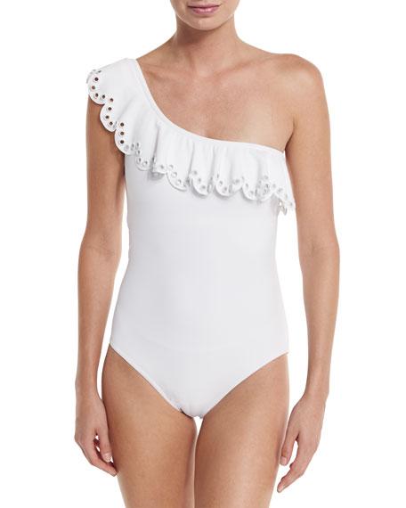 Karla Colletto Temptation One-Shoulder Swimsuit