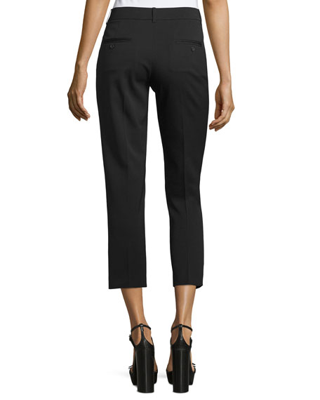 Samantha Skinny Cropped Pants, Black