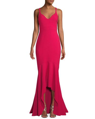 Sade Sleeveless Mermaid Gown