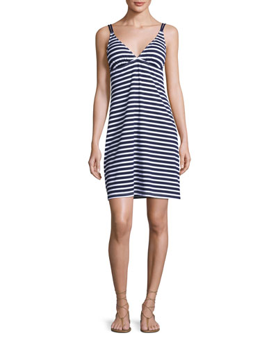 Breton Stripe Spa Dress