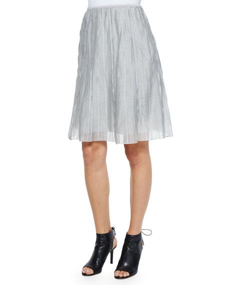 NIC+ZOE Petite Fluttery Batiste Flirt Skirt