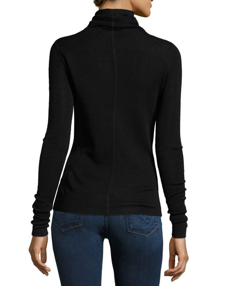 Cenelle Wool/Silk Turtleneck Sweater
