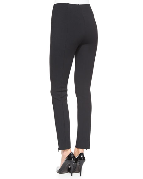 Luxe Sculpture Knit Ankle Pants