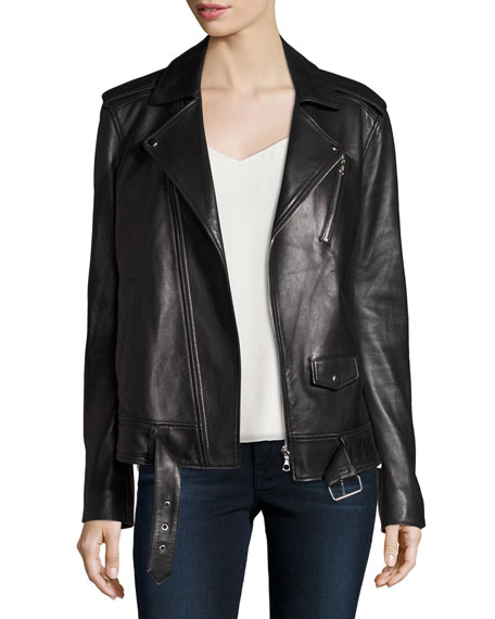 Women's Leather & Moto Jackets at Neiman Marcus