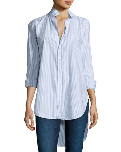 Grayson High-Low Button-Down Shirt