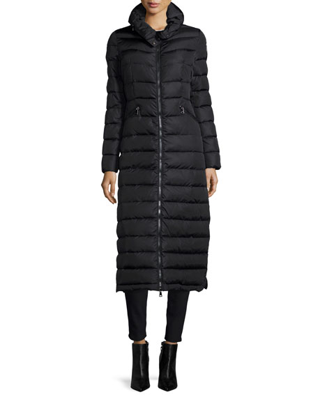Flammong Long Puffer Coat