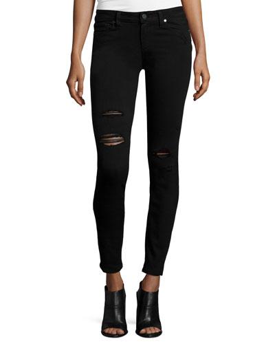 Verdugo Ultra Skinny Jeans, Black