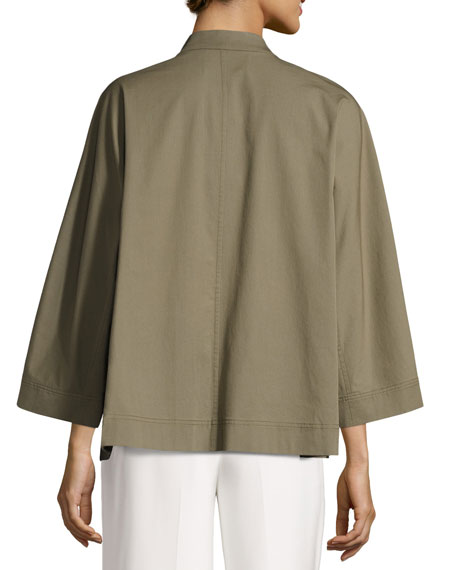 Adam Bi-Stretch Cotton Swing Jacket
