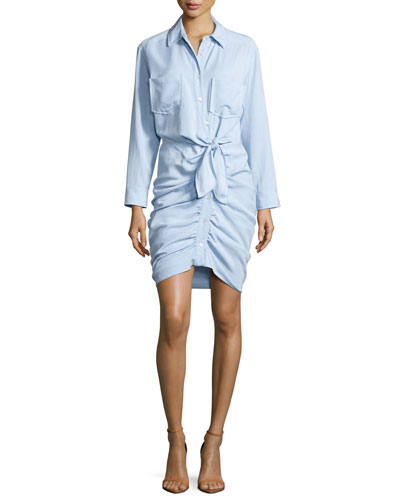 Vickie 6 blue dress shirts