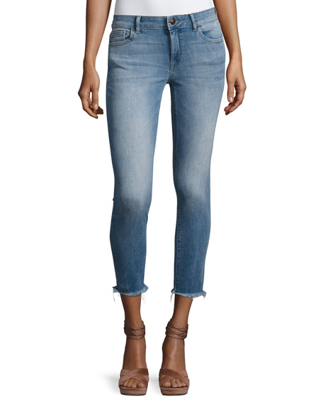 DL 1961 Florence Instasculpt Cropped Skinny Jeans with
