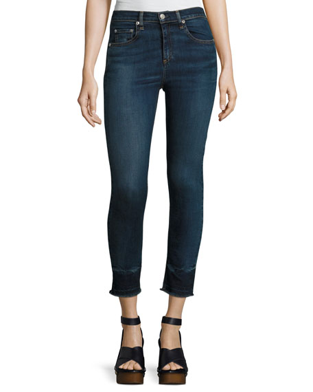 rag & bone/JEAN 10 Inch Capri Jeans with