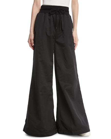 Fenty Puma by Rihanna High-Waist Satin Palazzo Pants,