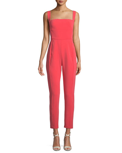 Bene Crisscross Cropped Jumpsuit