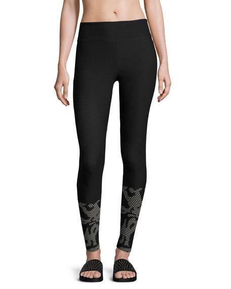 Koral Activewear Gradient High-Rise Performance Leggings, Black