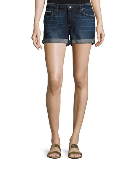 PAIGE Jimmy Jimmy Cuffed Denim Shorts, Virginia