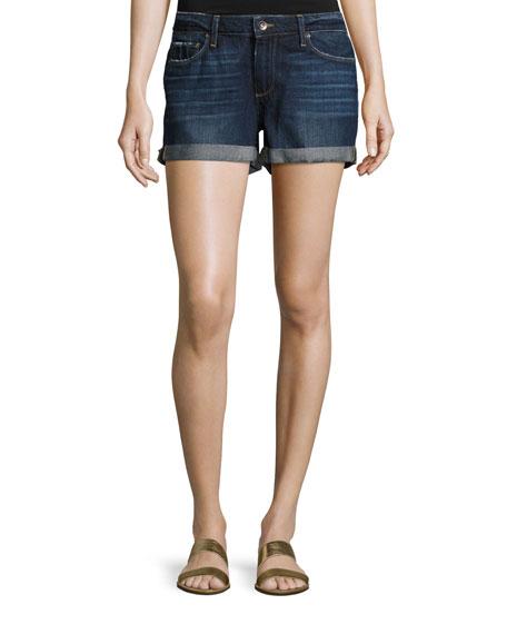 Paige Jimmy Jimmy Cuffed Denim Shorts, Virginia