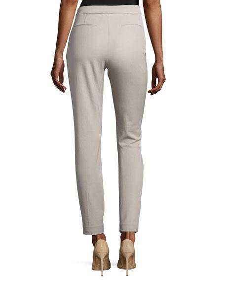 Gia Straight-Leg Ankle Pants