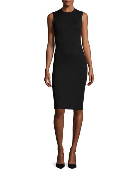 Theory Eano B Sleeveless Cocktail Sheath Dress, Black