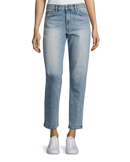 The Debbie High-Rise Boyfriend Ankle Jeans, Reiz