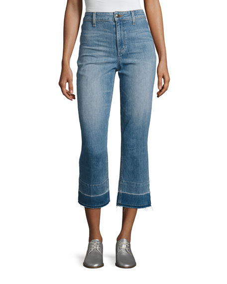 Joe's Jeans The Jane High-Rise Straight Cropped Jeans