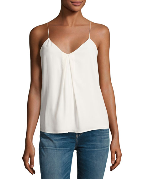 Nahlah B Sleeveless Silk Top