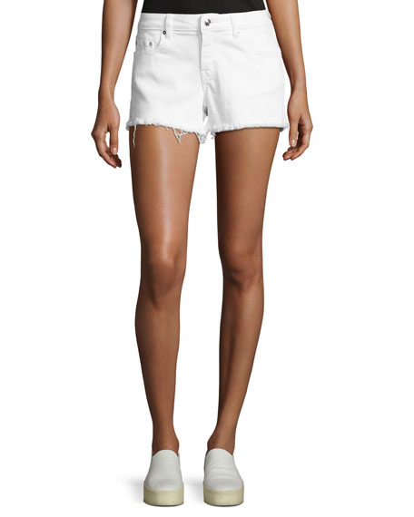 Derek Lam 10 Crosby Quinn Mid-Rise Slim Girlfriend