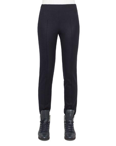 Akris Melissa Mid-Rise Slim Pants