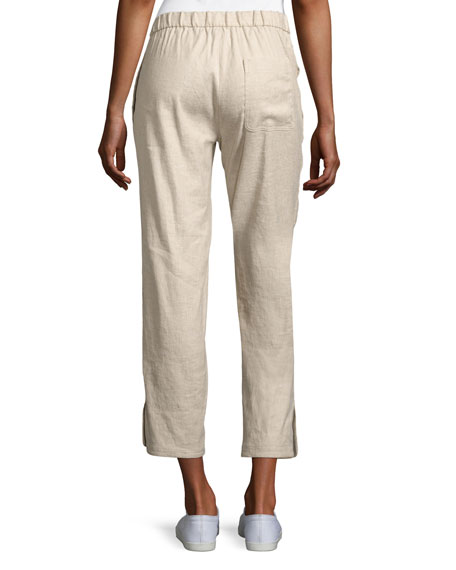 Thorina Tierra Wash Cropped Pants, Beige