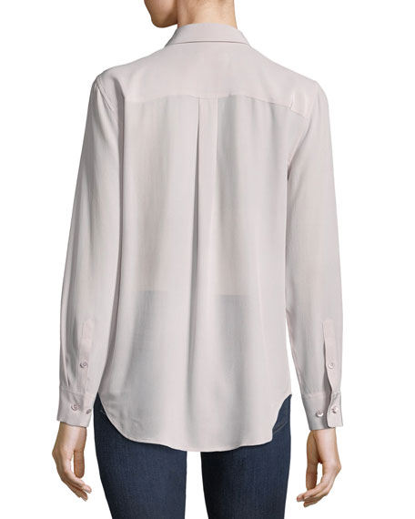 Silk Slim Signature Top