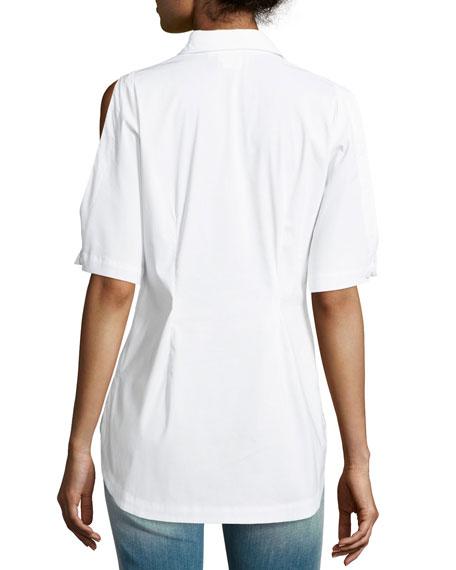 Tate Cold-Shoulder Top