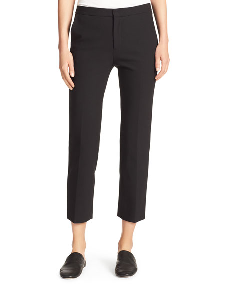 Vince Stovepipe Stretch Cropped Trousers