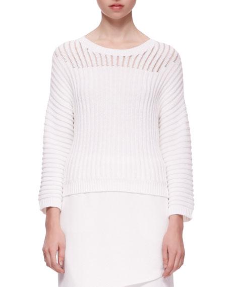 Marsha Squiggle Knit Sweater