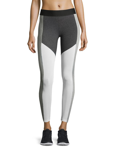 Heroine Sport Racing Colorblock Performance Leggings,