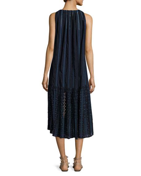 Eesha Sleeveless Georgette Midi Dress
