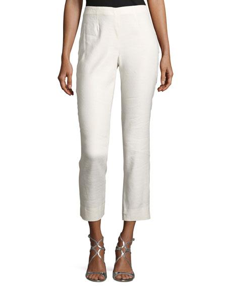 Luxe Linen Slim Pants