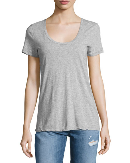 AG The Killian Jersey Tee, Heather Gray
