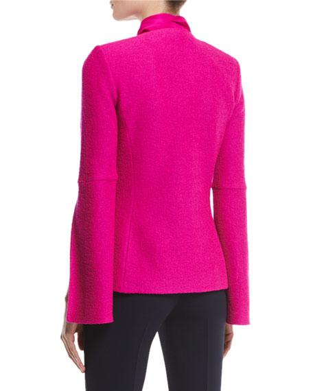 Clair Bracelet Split Sleeve Jacket, Pink