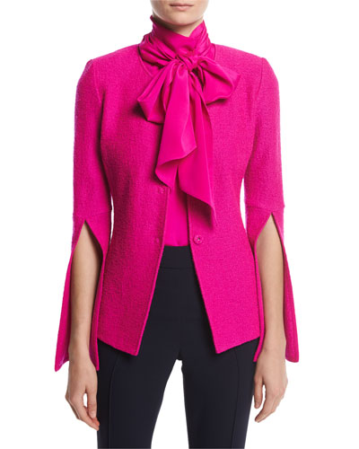 Hot Pink Blazer Jacket - Best Blazer 2017