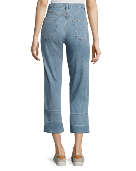 Tivoli Lou High-Rise Crop Denim Jeans
