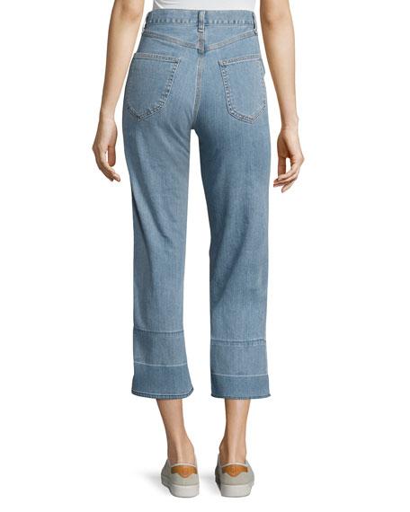 Tivoli Lou High-Rise Crop Denim Jeans